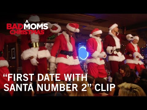 "A Bad Moms Christmas | ""First Date With Santa Number 2"" Clip 