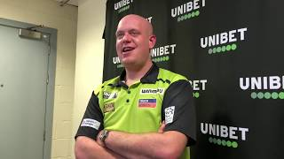 "Michael van Gerwen on beating Price in Liverpool: ""I just keep putting pressure on his shoulders"""