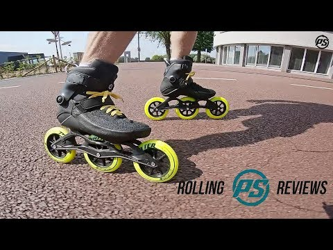 Powerslide Swell Black Road 125 fitness skates - Rolling Reviews