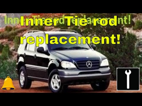 How to replace Inner and outer tie rod 1999 Mercedes Benz ml320 (Same on most make and modles)