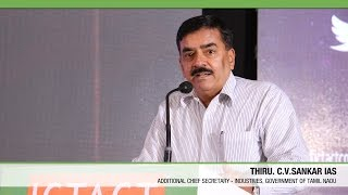 C V Sankar IAS   Govt. Tamil Nadu   ICTACT Convergence 2015