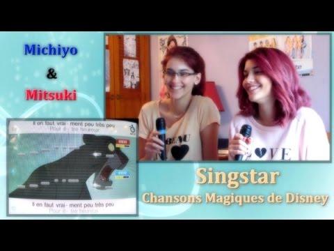 SINGSTAR CHANSONS MAGIQUES DE DISNEY : JEU Sony PLAYSTATION 2 PS2 (envoi suivi)