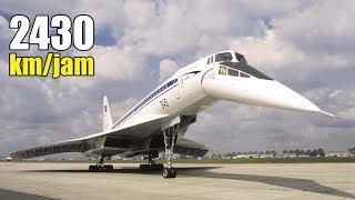 Download Video Super Cepat!! Inilah 8 Pesawat Penumpang Tercepat Yang Menyamai Kecepatan Suara MP3 3GP MP4