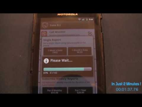 Video of Fone B.I, A Friendly Phone Spy