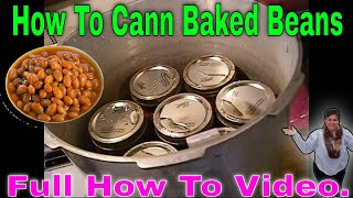 Tessie shows in detail How she cans Bacon Baked beans ,a Family Favorite .this is a Detailed Video::)
