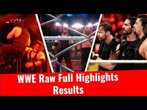 WWE Raw Highlights HD 10/16/2017 Results 16 October2017 Kane Attacked Roman Reigns Vs Braun Strowman