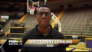Brittanny Dinkins selected as a finalist for 2017 C Spire Gillom Trophy