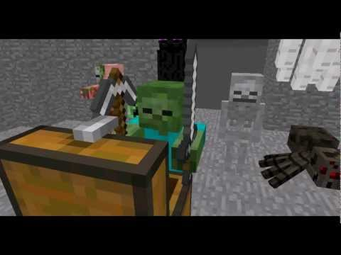 Monster School: Combat - Minecraft Animation