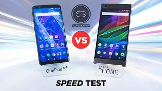 Video OnePlus 5T vs Razer Phone SPEED Test MP3, 3GP, MP4, WEBM, AVI, FLV November 2017