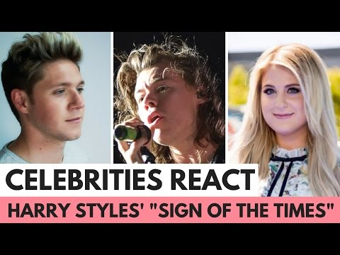 """Celebrities React to Harry Styles' """"Sign of the Times"""