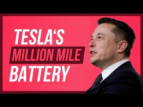 Tesla's Million Mile Battery