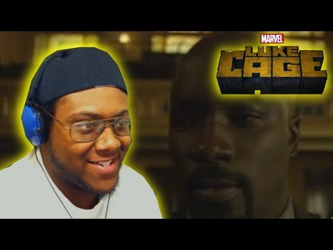 "Luke Cage Season 1 Episode 5 ""Just to Get a Rep"" REACTION!"