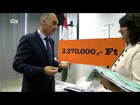 Közel két és félmillió forint értékű eszközparkkal gazdagodott a makói gyermek és újszülöttellátás