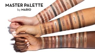 MASTER PALETTE BY MARIO REVIEW / SWATCHES by Wayne Goss