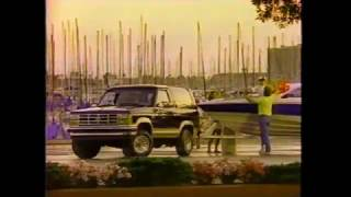 1989 Ford Bronco II Commercial
