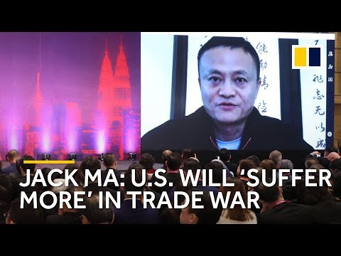 Jack Ma: US Will 'suffer More' In Trade War
