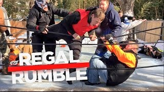 CRAZIEST 30 MAN ROYAL RUMBLE EVER FOR YOUTUBE WRESTLING CHAMPI...