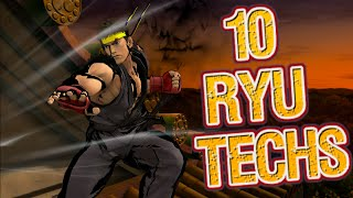 10 Ryu Techs in One Video