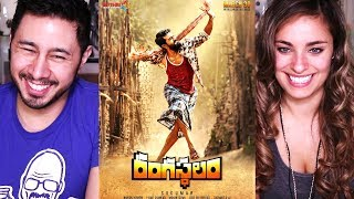 Video RANGASTHALAM | Ram Charan | Samantha | Aadhi | Trailer Reaction! MP3, 3GP, MP4, WEBM, AVI, FLV April 2018