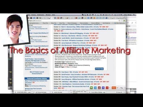 Basics of Affiliate Marketing on Facebook