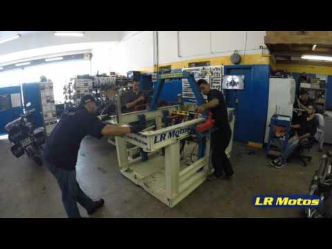 LR Motos - Processo de Manutenção da Shineray XY 50 Q Vermelha