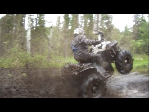 Blackie - This video was shot on marked trails, do your part in helping keep atv'ing sustainable in your areas. Pack out what you pack in.