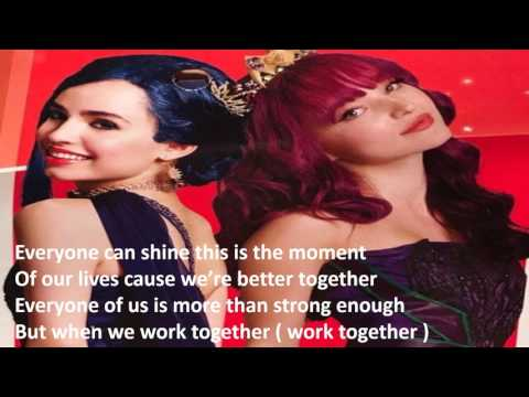 Descendants 2 - Better Together Lyrics