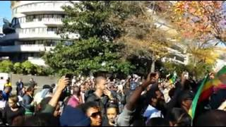 Ethiopians Protest Washington D.C. Against Saudi Abuse Nov. 18