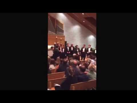 Guerin Catholic Gentlemen's Choral Group 2015 (GCGCG) I'm Yours/Somewhere Over the Rainbow Medley