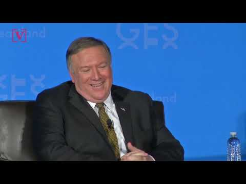 Secretary of State Mike Pompeo Says He'll Serve Until Trump 'Tweets Me Out of Office'