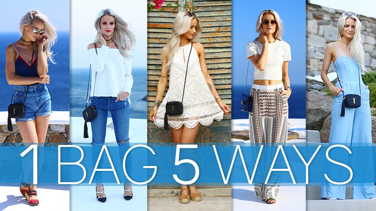 HOW TO STYLE: THE YSL BLOGGER BAG 5 WAYS