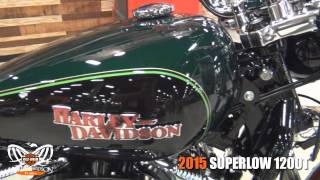 1. New 2015 Harley Davidson Superlow 1200T Motorcycle for sale  - Tampa, FL