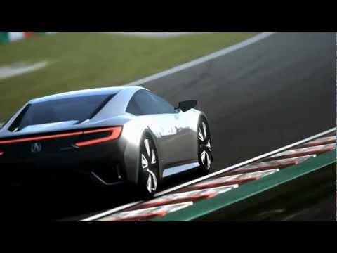 Acura  New 2012 Acura NSX Concept