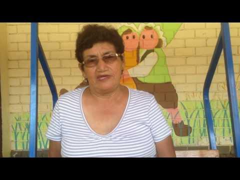 Margarita Herrera berättar om Cuna Nazareth