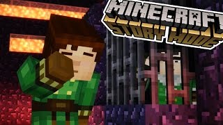 AXEL, OLIVIA AND.... REUBEN!?!?! | Minecraft : Story Mode | Episode 8 [3]