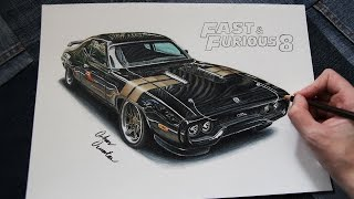 Nonton Plymouth GTX Road Runner | Fast And Furious 8 🔥 Dom's Car Drawing Film Subtitle Indonesia Streaming Movie Download