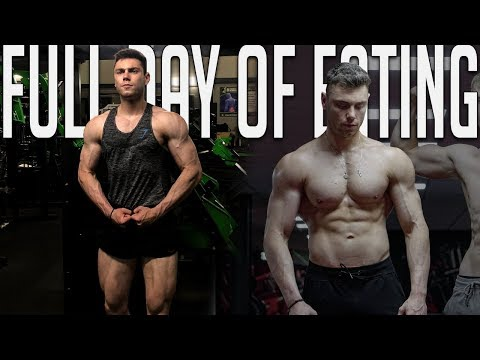 FULL DAY OF EATING BULKING   BODYBUILDING OFF SEASON - ROAD TO CLASSIC PHYSIQUE