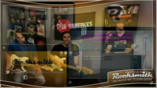 """This week, the team plays all four tracks from The Strokes II song pack, including """"Someday,"""" """"Taken for a Fool,"""" """"You Only Live Once,"""" and """"12:51."""" We also discuss creative approaches to tricky chord shapes. -- Watch live at https://www.twitch.tv/rocksmithgame"""