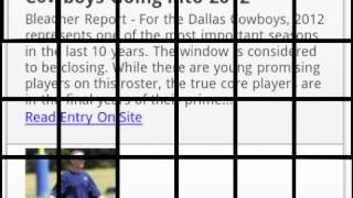 Dallas Cowboys YouTube video