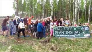 ENO-verkkokoulu järjesti puunistutuspäivän 22. toukokuuta 2014, kansainvälisenä ekologisen monimuotoisuuden päivänä. Joensuulaiset Nepenmäen ja ...