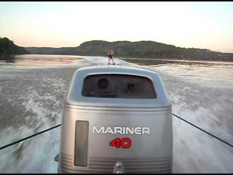 Ski no rio uruguai - porto lucena - rs