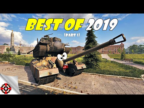 World Of Tanks - Funny Moments | BEST OF 2019! (Part 1, WoT Best Of)