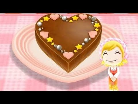 How To Make Heart Ganache Learn To Cook With Cooking MaMa Cartoon For Kids Children Toddle