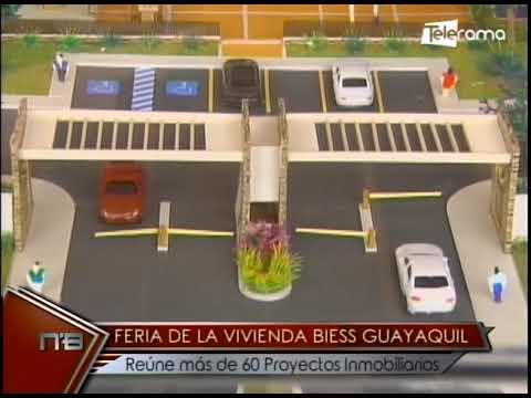 Feria de la Vivienda BIESS Guayaquil reúne más de 60 proyectos inmobiliarios