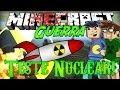 Minecraft Guerra 5: TESTE NUCLEAR! #8