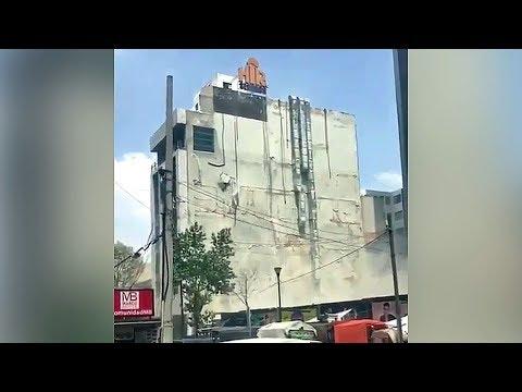 КАДРЫ ЗЕМЛЕТРЯСЕНИЯ В МЕКСИКЕ 19 сентября 2017