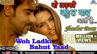 Video Woh Ladki Bahut Yaad Aati Hai - Lyrical Video | JHANKAR BEATS | Qayamat | Bollywood Romantic Songs MP3, 3GP, MP4, WEBM, AVI, FLV Agustus 2018