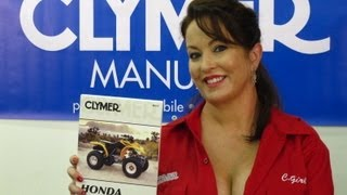 4. Clymer Manuals Honda TRX250  Manual Recon Manual TRX250ES Recon ES Manual ATV Four Wheeler Video