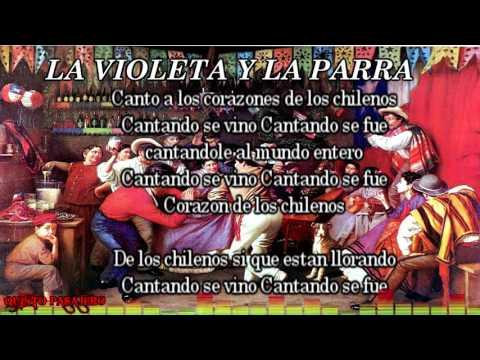 CUECA LA VIOLETA Y LA PARRA ( con letra)