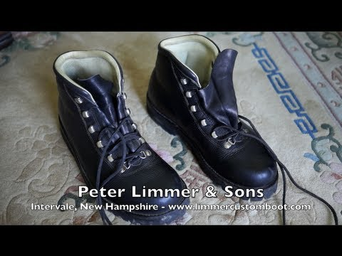 The Best Boots Ever Made! - Limmer Custom Made Hiking Boots